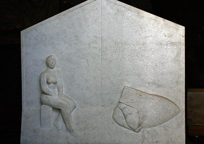 Stein-Relief von Klaus Kütemeier