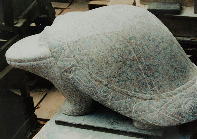 Fabeltier aus Stein von Klaus Kütemeier