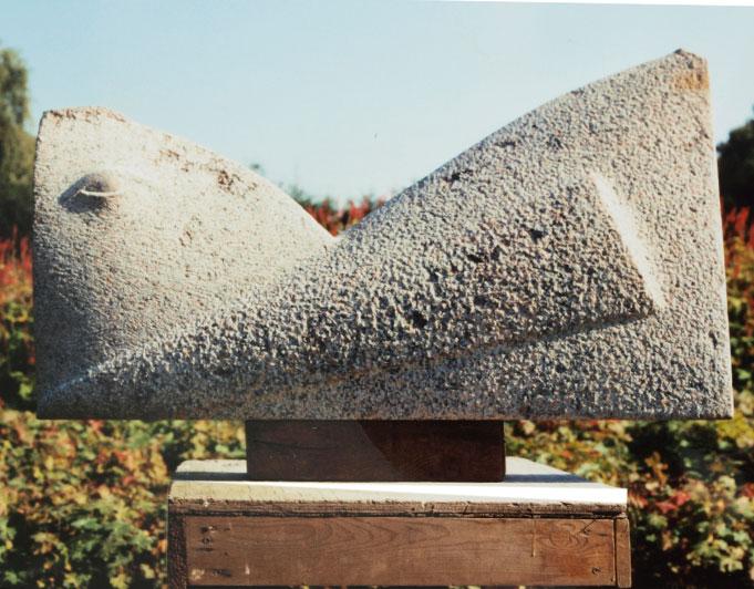 tierähnliche Steinfigur von Klaus Kütemeier